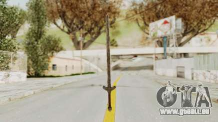Skyrim Iron Long Sword pour GTA San Andreas