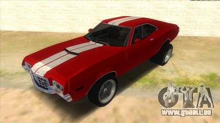 1972 Ford Gran Torino Drag pour GTA San Andreas