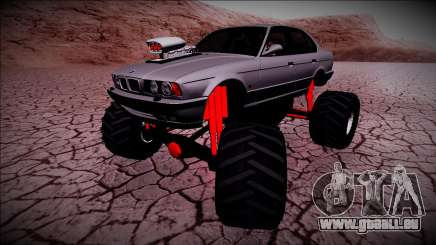 BMW M5 E34 Monster Truck pour GTA San Andreas