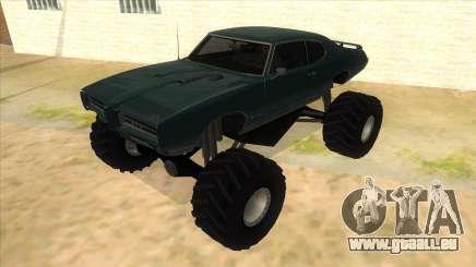 1969 Pontiac GTO Monster Truck pour GTA San Andreas