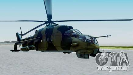 Mi-24V Sri-Lanka Air Force CH621 für GTA San Andreas