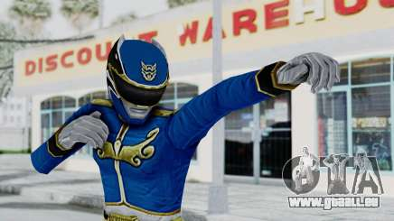 Power Rangers Megaforce - Blue pour GTA San Andreas