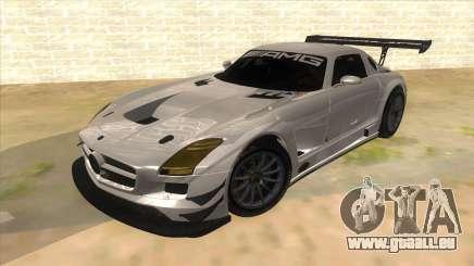 Mercedes Benz SLS AMG GT3 pour GTA San Andreas