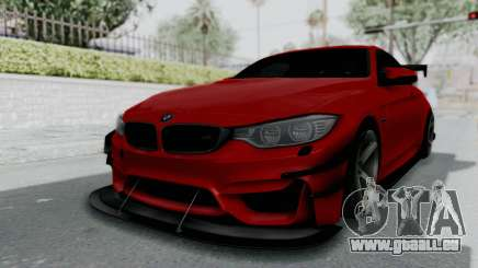 BMW M4 F82 Race Tune pour GTA San Andreas