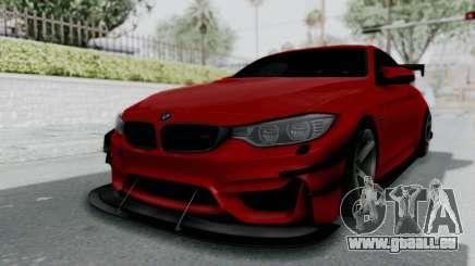 BMW M4 F82 Race Tune pour GTA San Andreas