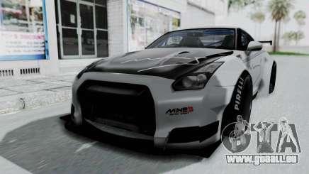 Nissan GT-R R35 2010 Liberty Walk für GTA San Andreas