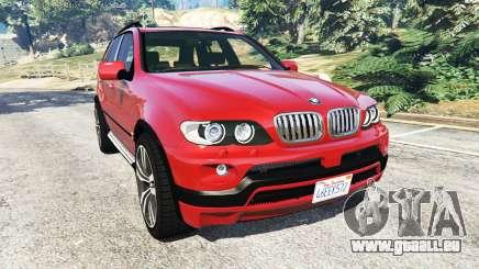 BMW X5 (E53) 2005 pour GTA 5