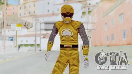 Power Rangers Ninja Storm - Yellow pour GTA San Andreas