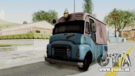 Hitman Absolution - Ice Cream Van für GTA San Andreas