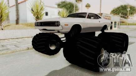 Dodge Challenger 1970 Monster Truck pour GTA San Andreas