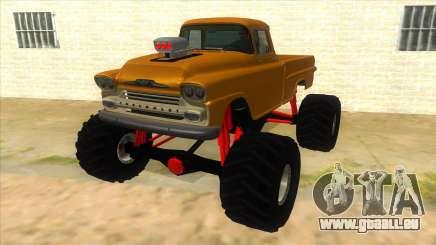 1958 Chevrolet Apache Monster Truck pour GTA San Andreas