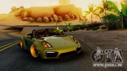 Porsche Boxster GTS LB Work pour GTA San Andreas