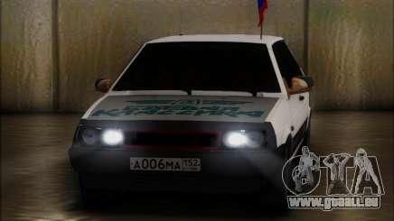 VAZ 2108 Militaires Classiques pour GTA San Andreas