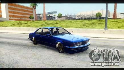 BMW M635 CSi (E24) pour GTA San Andreas