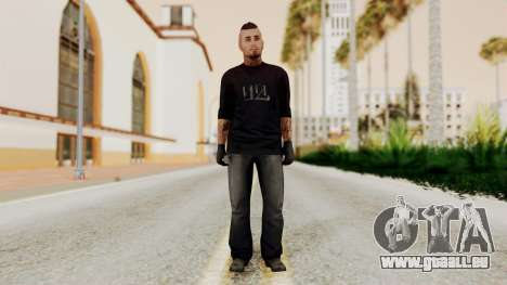 GTA 5 Tattooist v1 pour GTA San Andreas deuxième écran