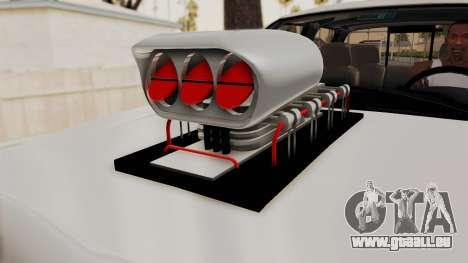 Chevrolet Silverado 2011 Monster Truck pour GTA San Andreas vue arrière