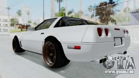 Chevrolet Corvette C4 Drift pour GTA San Andreas vue de droite