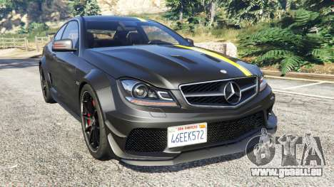 Mercedes-Benz C63 Coupe pour GTA 5