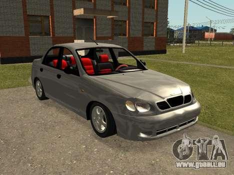 Daewoo Lanos (Sens) 2004 v2.0 by Greedy pour GTA San Andreas