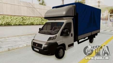 Fiat Ducato Work Van v2 für GTA San Andreas