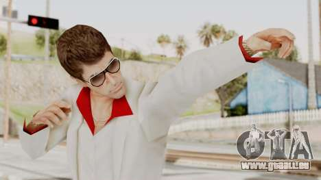 Scarface Tony Montana Suit v4 with Glasses für GTA San Andreas