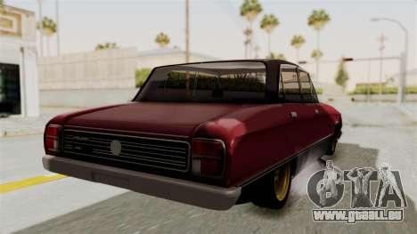 Ford Falcon Sprint für GTA San Andreas rechten Ansicht