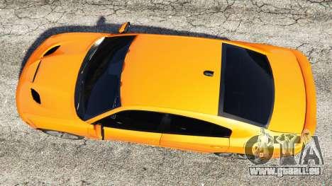 GTA 5 Dodge Charger SRT Hellcat 2015 v1.2 Rückansicht