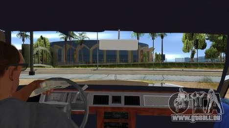 Mercury Grand Marquis 1986 v1.0 pour GTA San Andreas vue intérieure