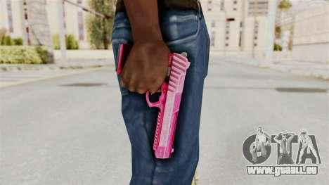 GTA 5 Pistol .50 Pink für GTA San Andreas
