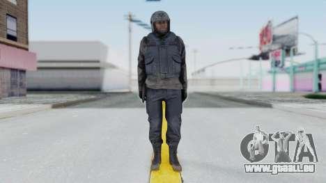 MGSV Phantom Pain Zero Risk Vest v1 pour GTA San Andreas deuxième écran