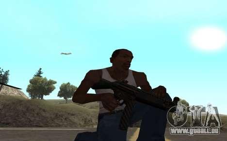 Redline weapon pack pour GTA San Andreas septième écran