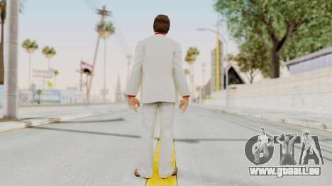 Scarface Tony Montana Suit v4 with Glasses pour GTA San Andreas troisième écran