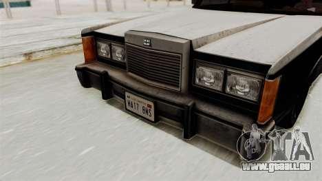 GTA 5 Dundreary Virgo IVF pour GTA San Andreas vue arrière