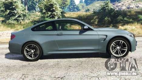 GTA 5 BMW M4 GTS vue latérale gauche