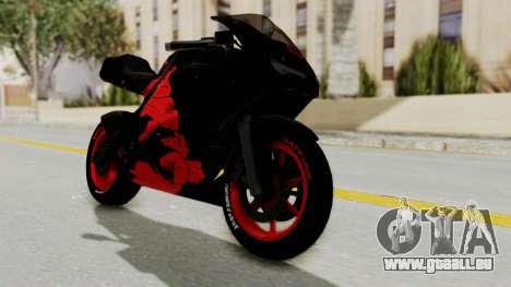 Bati Batik Hellboy Motorcycle v3 pour GTA San Andreas
