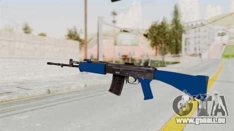 IOFB INSAS Dark Blue für GTA San Andreas zweiten Screenshot