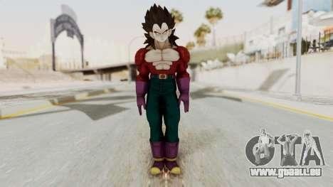 Dragon Ball Xenoverse Vegeta SSj4 pour GTA San Andreas deuxième écran