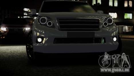 Toyota Land Crusier Prado 150 pour GTA 4 est un droit