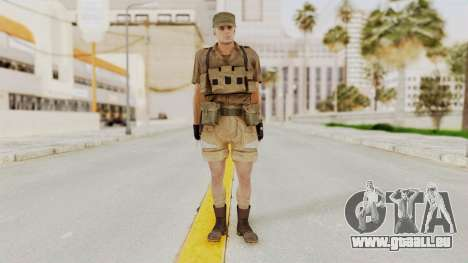 MGSV Phantom Pain CFA Combat Vest 1 v2 für GTA San Andreas zweiten Screenshot
