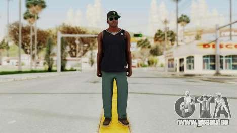 GTA 5 Franklin v3 pour GTA San Andreas deuxième écran