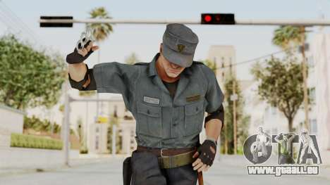 MGSV Phantom Pain Zero Risk Security Combat v2 pour GTA San Andreas