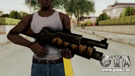 Heavy Machinegun from Metal Slug für GTA San Andreas dritten Screenshot