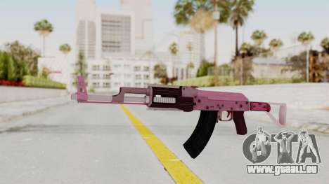 Assault Rifle Pink für GTA San Andreas zweiten Screenshot