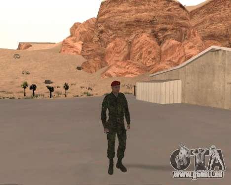Pak Militaire Russe pour GTA San Andreas quatrième écran