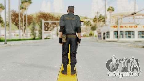 MGSV Phantom Pain Zero Risk Security Combat v2 für GTA San Andreas dritten Screenshot