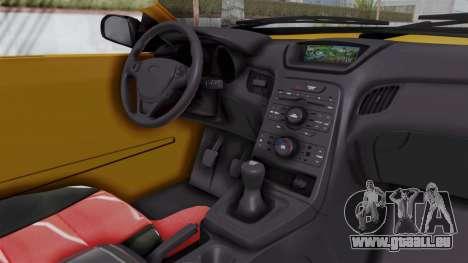 Nissan Maxima Spyder für GTA San Andreas Innenansicht