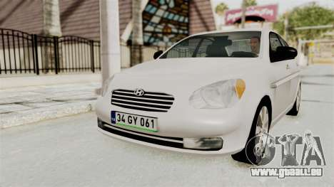 Hyundai Accent Era für GTA San Andreas linke Ansicht