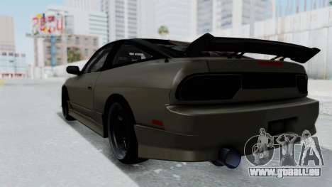 Nissan Sileighty TOD für GTA San Andreas linke Ansicht