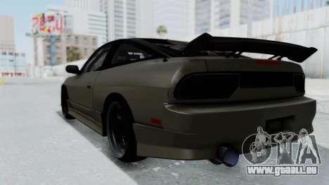 Nissan Sileighty TOD pour GTA San Andreas laissé vue