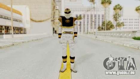 Mighty Morphin Power Rangers - White pour GTA San Andreas deuxième écran